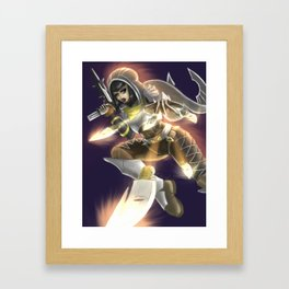 Destiny Hunter Framed Art Print