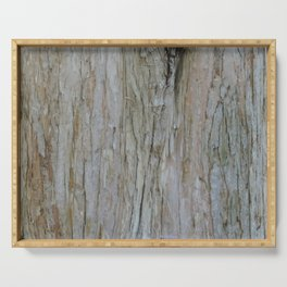 TEXTURES -- Dawn Redwood Bark Serving Tray