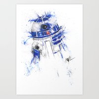 These Are not the droids you're looking for  Art Print