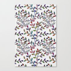 Small, Colorful Leaves  Canvas Print
