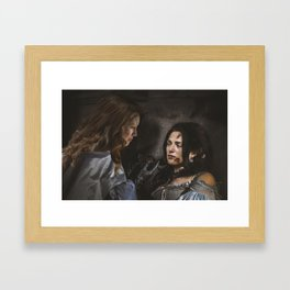 Supercorp - fan art Framed Art Print