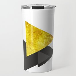 Metal triangle abstract - Metal sign - The Five Elements Travel Mug