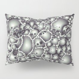 Microscopic Abstract Shapes Pillow Sham
