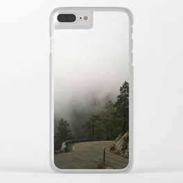 Sequoia's Scenic Route Clear iPhone Case