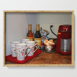 Home Coffee Bar Serving Tray
