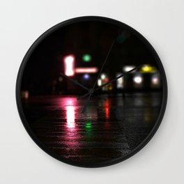 The crosswalk Wall Clock