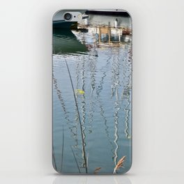 Boats Reflections Water iPhone Skin
