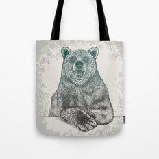 Bear Portrait Tote Bag
