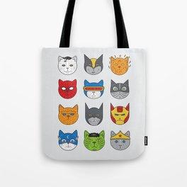 Super Cats Tote Bag