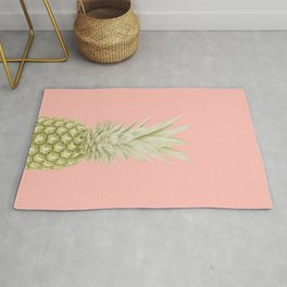 Pineapple a Day - pastel Rug