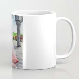 Centaur Girl Combing Coffee Mug