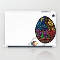 egg iPad Cases featuring Egg by glorya