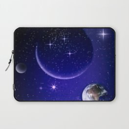 Fantastic yourney into space. Laptop Sleeve