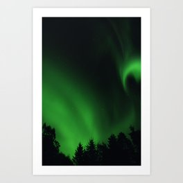 The Northern Lights 05 Art Print