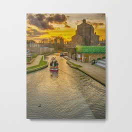 Regents Park Canal London Metal Print