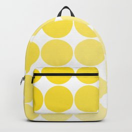 Yellow Circle Color Chart Backpack