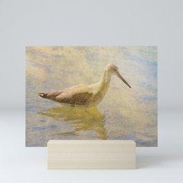 A Silent Wader Mini Art Print