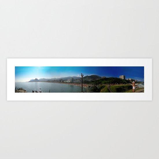 Rio de Janeiro Panorama Art Print