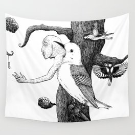 Fragility, Inside out Wall Tapestry