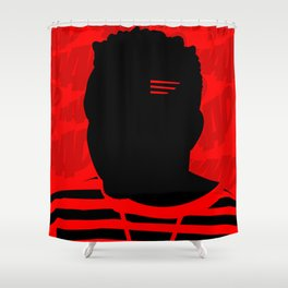 Good Kid, Bad Pillow Shower Curtain
