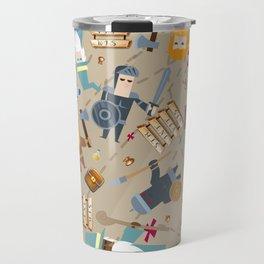 Treasure Chests & Potions Travel Mug