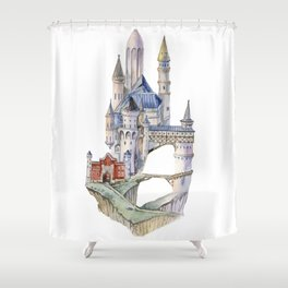 The magic castle in Germany Shower Curtain