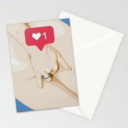 diggin' for lke Stationery Cards