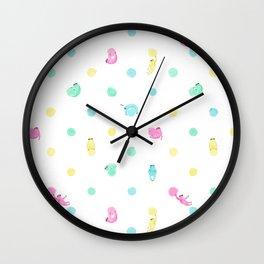 Sloth Dot Wall Clock