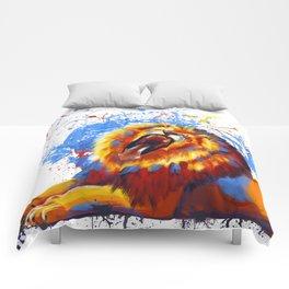 Lion Yawn Comforters