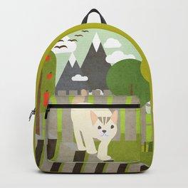 Cat balance 1 Backpack
