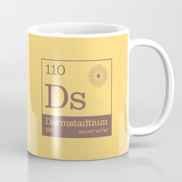 Periodic Elements - 110 Darmstadtium (Ds) Coffee Mug