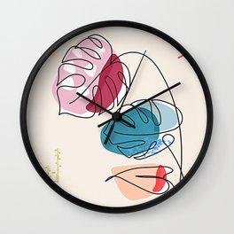 Tropical Moment C Wall Clock
