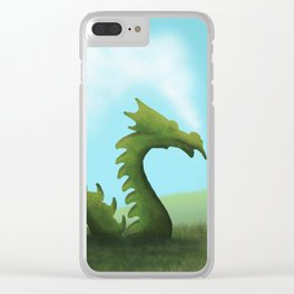 Dreams Of A Dragon Clear iPhone Case