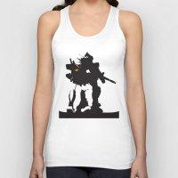 gundam Tank Tops featuring Gundam RX-78-2 by Jason Weisbrot