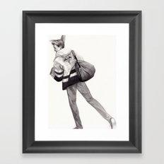 Mailman of the Gods Framed Art Print