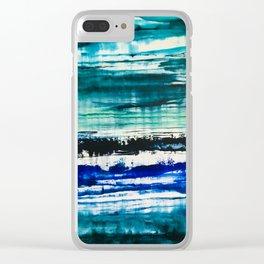 Sous l'eau... Clear iPhone Case