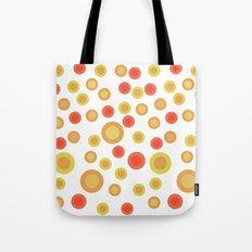 Circular Warm Texture Tote Bag