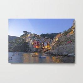 Riomaggiore of Cinque Terre Metal Print