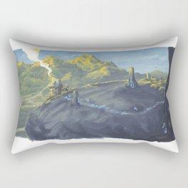 Magic house Rectangular Pillow