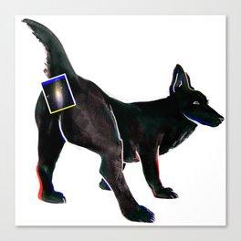 spacedog Canvas Print