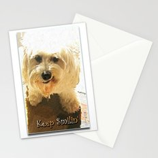Keep Smilin' Poster Stationery Cards
