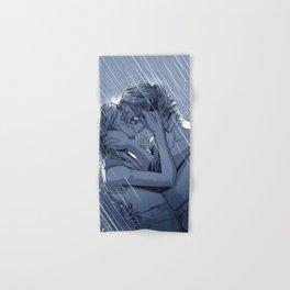Supercat Kiss in the Rain BLUE Hand & Bath Towel