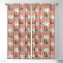 The Cloud Factory Sheer Curtain