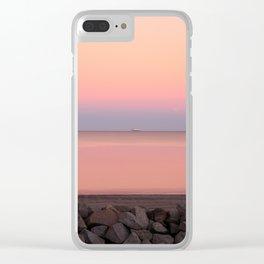 Sunset on Jekyll Island Georgia Clear iPhone Case