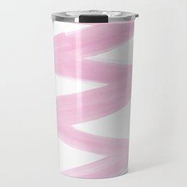 Pastel Pink Blizzard Travel Mug