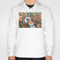 gizmo Hoodies featuring Gizmo  by Portraits on the Periphery