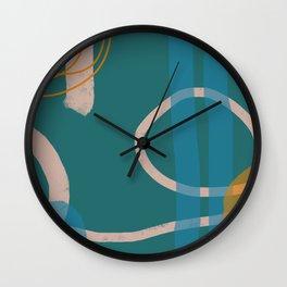 Lineup Series Green  Wall Clock