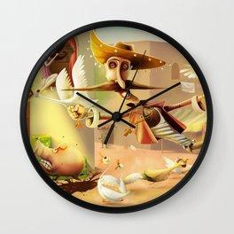 Desperados Wall Clock