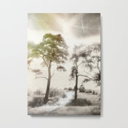 Peace before the Storm Metal Print