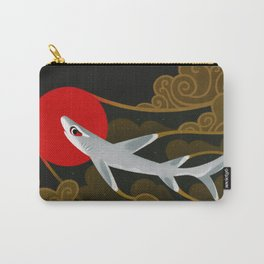 White Tip Reef Shark Carry-All Pouch